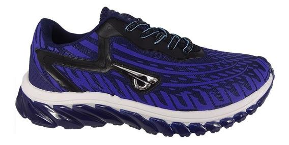 Tênis Glk Azul Caminhada Sem Frete 010701