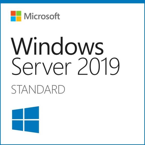 Key Windows Server 2019 Standard Esd + 50 Cals Rds + Nfe