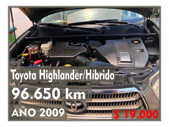 Toyota Higlander Híbrido Verde Ovalo Oscuro 5 Puertas