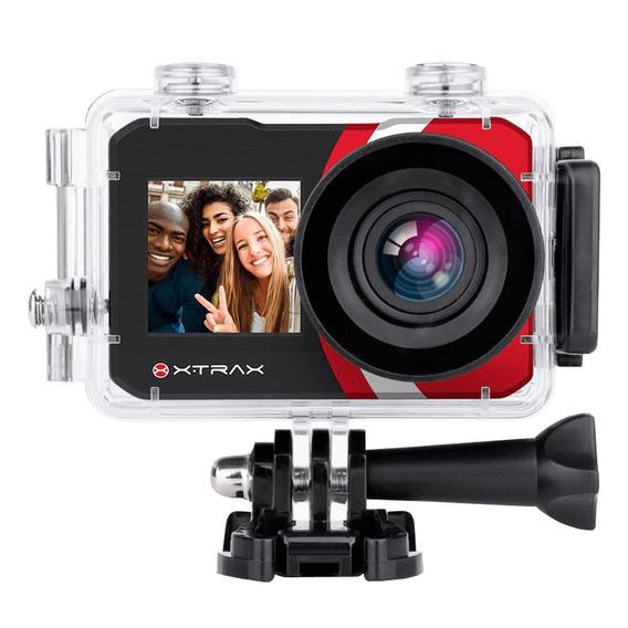 Câmera De Ação Xtrax Selfie 4k 16mp Preta