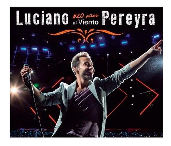 Cd + Dvd Luciano Pereyra - 20 Años Al Viento - Universal