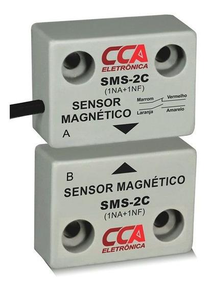 Sensor Magnético De Proximidade Emissor + Receptor - 1na+1nf