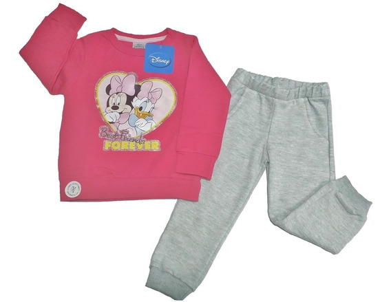 Conjunto Pantalón Y Buzo Minnie Disney Friza Funnystore