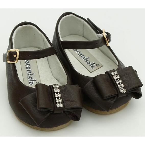 Sapato Couro Marron