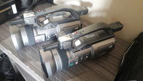 2 Câmeras Gy Dv 300 Não Pd150 Pd170 Minidv 3ccd Telão Dvcam