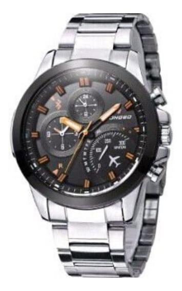 Relógio Importado Longbo De Aço Inoxidável Frete Grátis