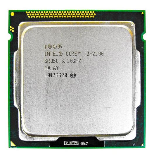 Procesador Intel Core i3-2100 BX80623I32100 2 núcleos 32 GB