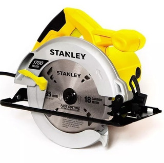Sierra Circular Profesional 184mm 1700w C/ Disco   Stanley Stsc1718
