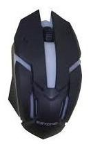 Mouse Gamer Estone Fy-119 1600dpi Botão De Rolagens Sensor