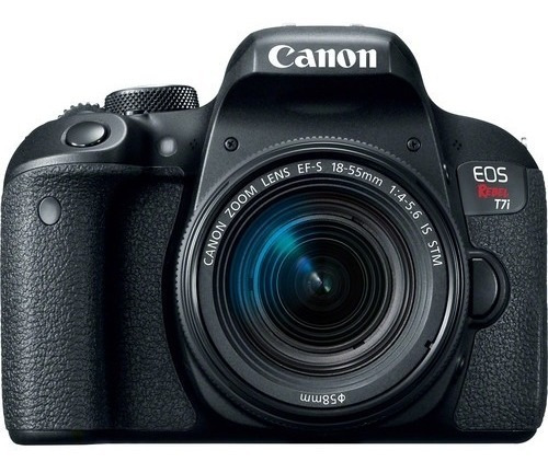 Canon Eos T7i Lente 18-55mm Is Stm Nota Fiscal