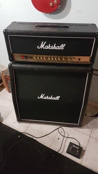 Marshall Dsl 100 H Cabezal Y Caja Angular / Valvular - Nuevo