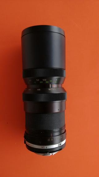 Zoom Sun 70-210 M.m P/ Minolta Reflex (slr) Analógica