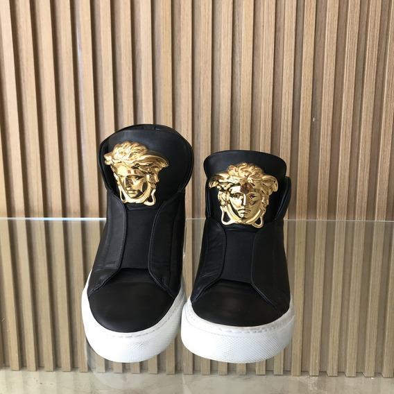 Versace Medusa Hi Top Fashion Sneaker