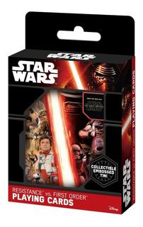 Naipes Resistencias Vs Primera Orden Star Wars