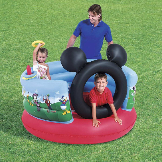 Gimnasio Inflable Niños Bestway Mickey Mouse
