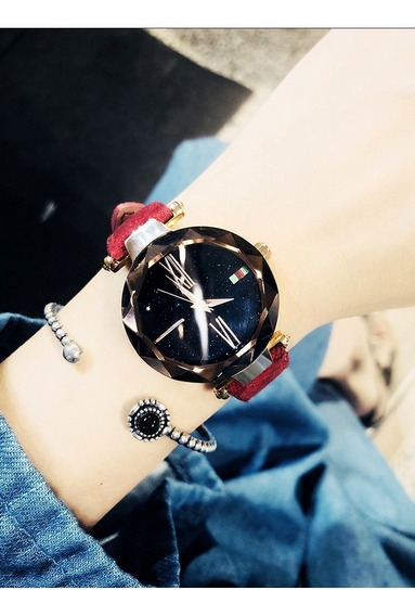 Relógio Feminino Varias Cores Fashion Moda