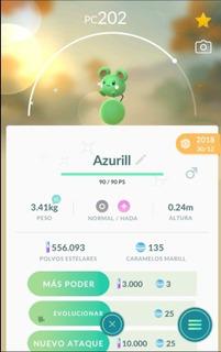 Azurill Shiny Variocolor Pokemon Go