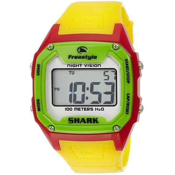 Relógio Freestyle - Killer Shark - Rasta 4736 Original