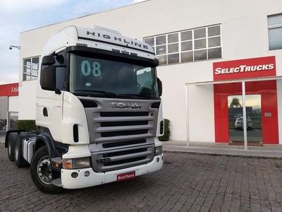 Scania Highline R420 6x4 S/reduçao - Selectrucks
