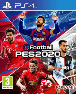 E Football Pro Evolution Soccer 2020 Ps4 Principal