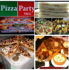 Pizza Party-picadas-barra Móvil-disc Jokey-mozos-seguridad