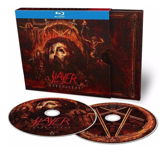 Box Slayer - Repentless (deluxe Blu-ray C/ Show Wacken)