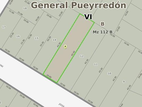Imagen 1 de 4 de Lote De 433m2 En Barrio Zacagnini A Metros Del Mar En Venta