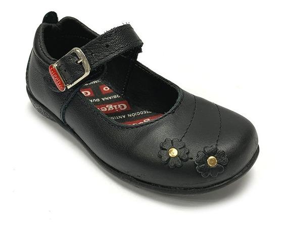Zapatos Escolares Gigetto Niña Negro Gi 0504 Corpez 42