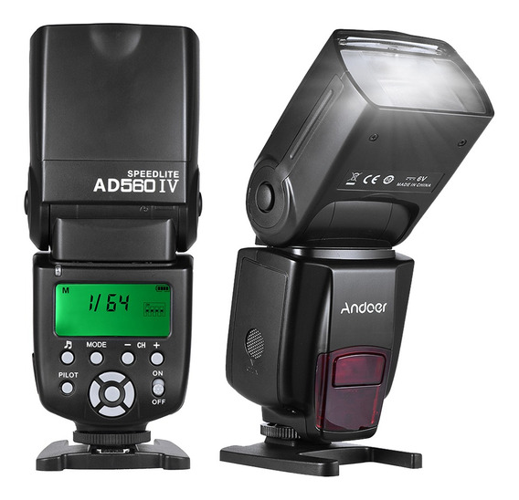 Andoer Ad560 Iv 2.4g Wireless Universal On-camera Slave