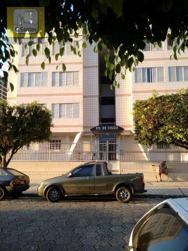 Imagem 1 de 10 de Kitnet À Venda, 42 M² Por R$ 110.000 - Vila Mirim - Praia Grande/sp - Kn0001