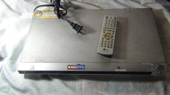 Lg Dvd Player Karaoke Dvd/cd/cdr/rw/vcd Musica Y Peliculas