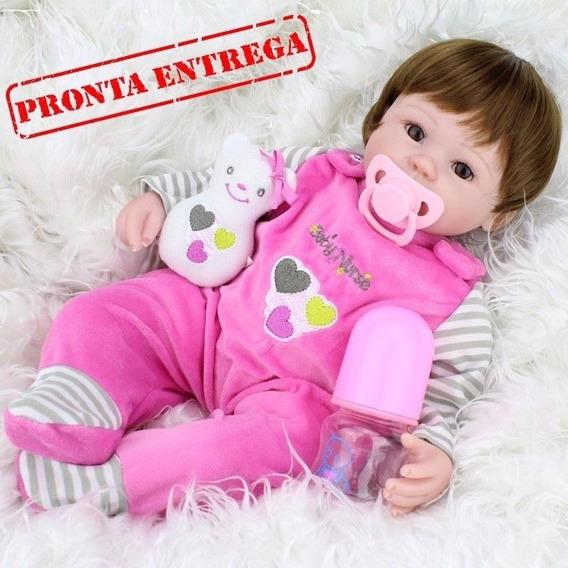 Reborn Newborn Boneca Linda Recem Nascido Realista Bebe