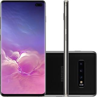 Smartphone Celular Samsung S10+ Plus 128gb Sem Sinais De Uso