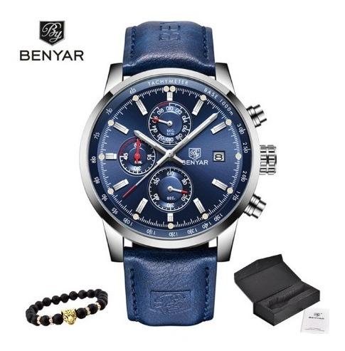 Relógio Benyar Sport - 43mm - Multifuncional