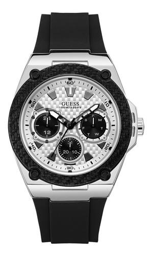 Reloj Guess Legacy Caballero W1049g3 Negro