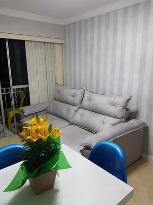 Apartamento 100% Mobiliado - Jardim Marajoara