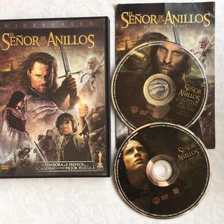 El Señor De Los Anillos Retorno Del Rey Dvd Es 2 Discos