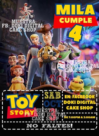 Invitación Digital Imprimible De Toy Story