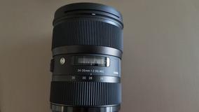 Lente Sigma 24-35mm F/2 Dg Hsm Para Canon