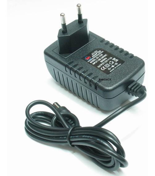 Fonte Chaveada 12v 2a Com Plug P4 5,5x2,1mm