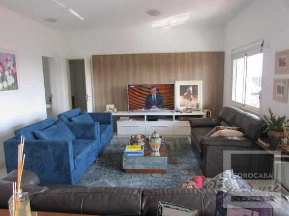 Apartamento Com 3 Suítes À Venda, 196 M² Por R$ 1.550.000 - Condomínio Único Campolim - Sorocaba/sp, Próximo Ao Shopping Iguatemi. - Ap0047
