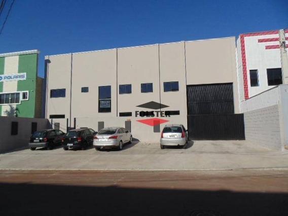 Galpão À Venda, 749 M² Por R$ 1.400.000,00 - Parque Industrial Bandeirantes - Santa Bárbara D