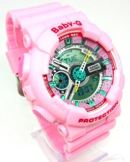 Relógio G Shock Baby G Rosa Feminino
