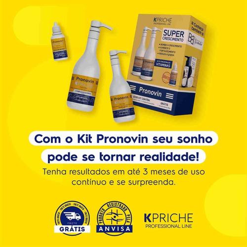 Imagem 1 de 3 de Pronovin Kit Vitamínico Super Crescimento Kpriche