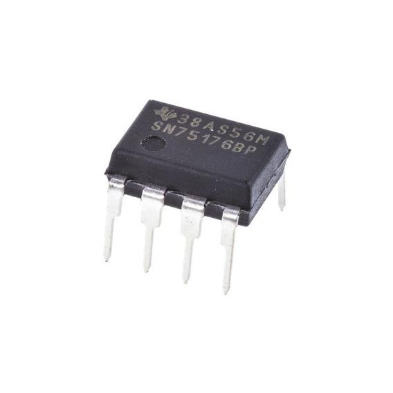 Pack X 3 Circuito Integrado Sn75176bp Sn75176 75176 Dip 8