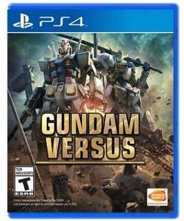 Gundam Versus - Juego Físico Ps4 - Sniper Game