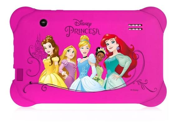 Tablet 7 Infantil Menina Rosa Princesas Disney Multilaser