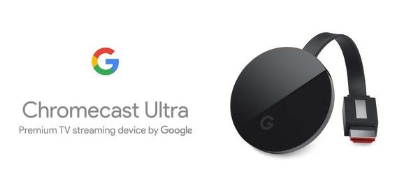 Google Nc2-6a5 Chromecast Ultra En Color Negro 4k