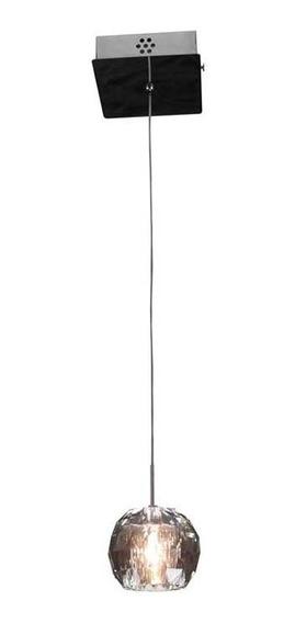 Lustre Pendente Bronzearte Crystal Ball 1x20w G4 220v