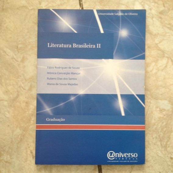 Livro Literatura Brasileira Ii - Graduação Fábio Rodrigues